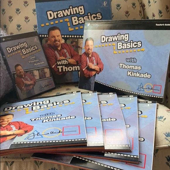 LIFEPAC Drawing Basics Box Set with Teachers Guide